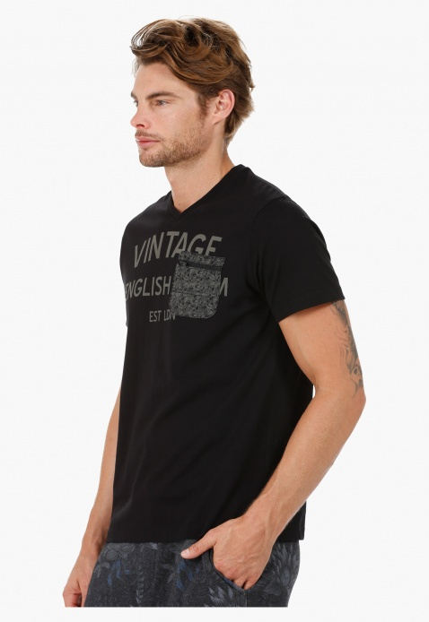 Lee Cooper V-Neck T-Shirt