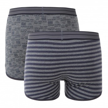 Lee Cooper Printed Cotton Boxers - Set of 2