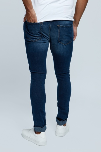 Lee Cooper Full Length Denim Pants in Skinny Fit