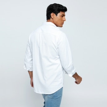 Lee Cooper Long Sleeves Shirt with Flap Pockets