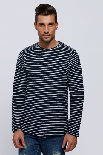 Striped Long Sleeves T-Shirt