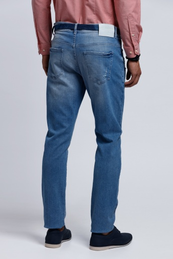 Organic Blend Lee Cooper Jeans with Button Closure in Slim Fit