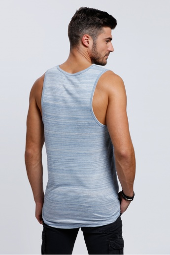 Lee Cooper Sleeveless Printed Vest