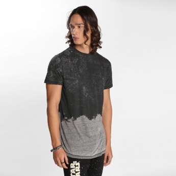 Lee Cooper Printed T-Shirt with Crew Neck and Short Sleeves
