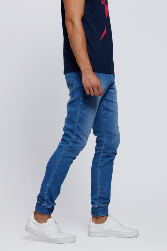 Lee Cooper Full-Length Cuffed Jeans