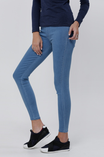 Lee Cooper Full Length Jeggings with Elasticised Waistband