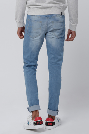 Lee Cooper Light Wash Skinny Fit Jeans