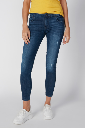 Lee Cooper Distressed Jeans with Pocket Detail