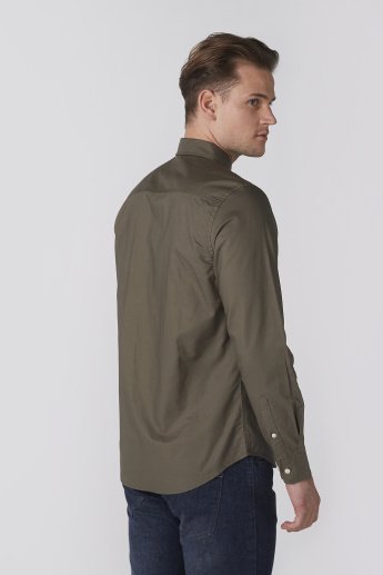 Bossini Long Sleeves Shirt with Complete Placket