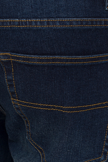 Bossini Pocket Detail Jeans with Button Closure