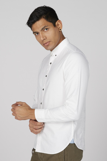 Lee Cooper Long Sleeves Shirt with Complete Placket