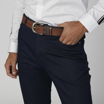 Lee Cooper Plain Belt with Pin Buckle