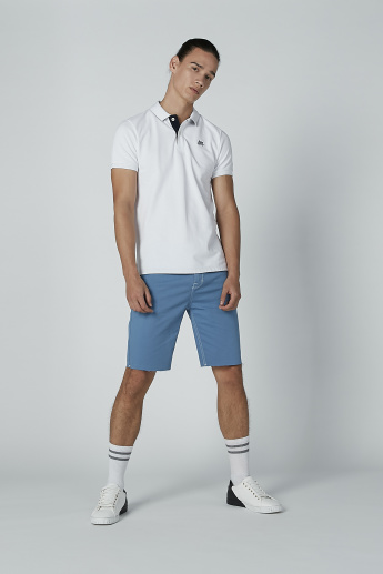 Lee Cooper Stitch and Pocket Detail Shorts