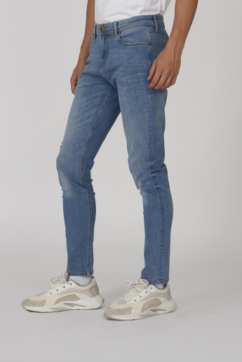 Sustainability Skinny Fit Mid-Rise 5-Pocket Jeans