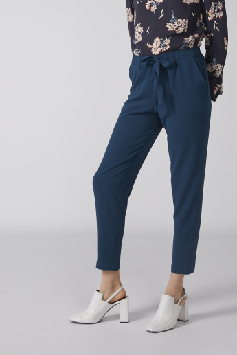 Bossini Pocket Detail Trousers with Elasticised Waistband