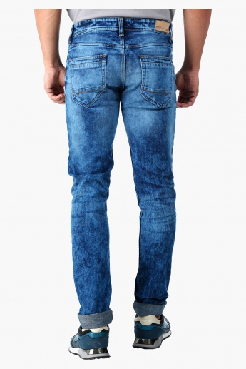 Water Repellent Low Rise Denim in Regular Fit