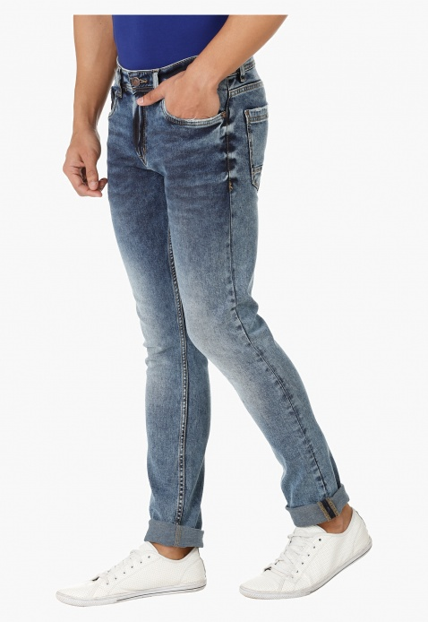 Full length Burner Jeans