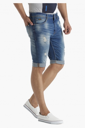 Denim Shorts in Regular Fit