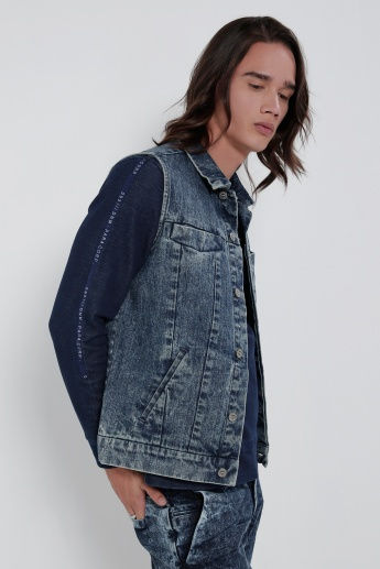 Sleeveless Jacket with Button Closure