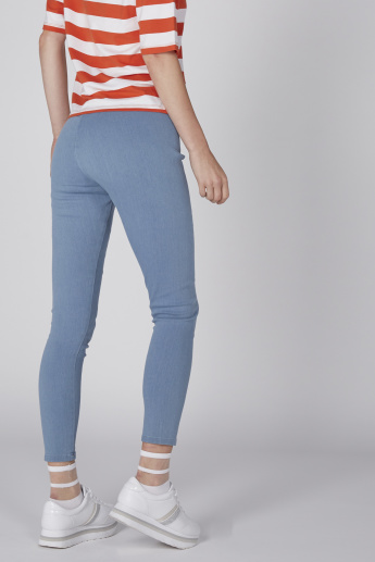 High Rise Super Skinny  Jeggings