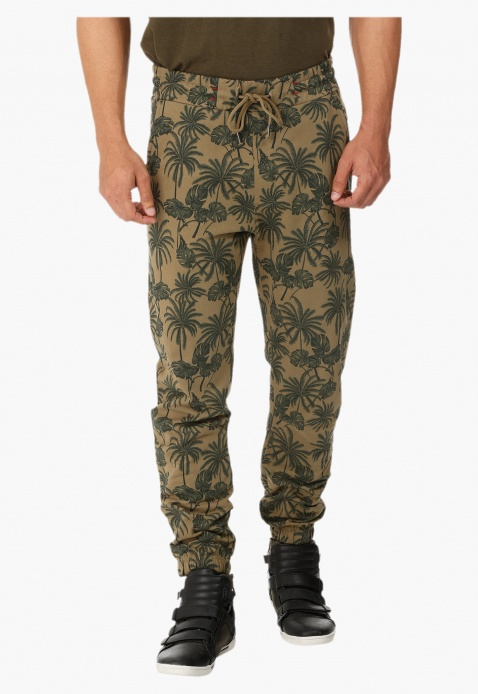 Printed Jog Pants