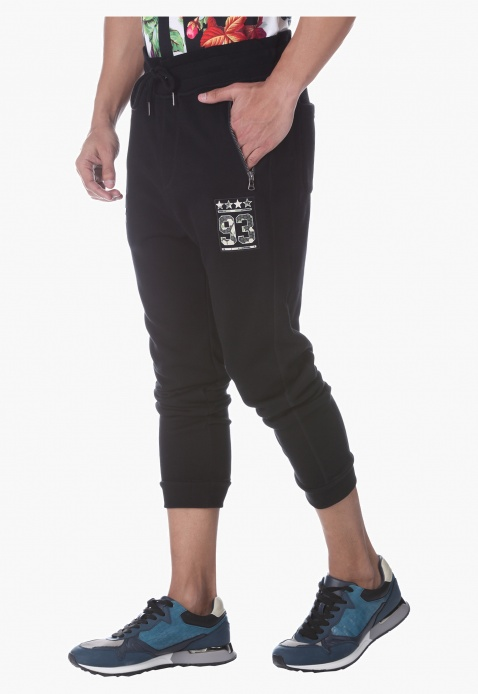 Solid Colour Jog Pants