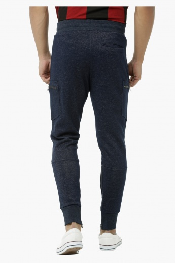 Jog Pants with Zip Pockets and Cuffs