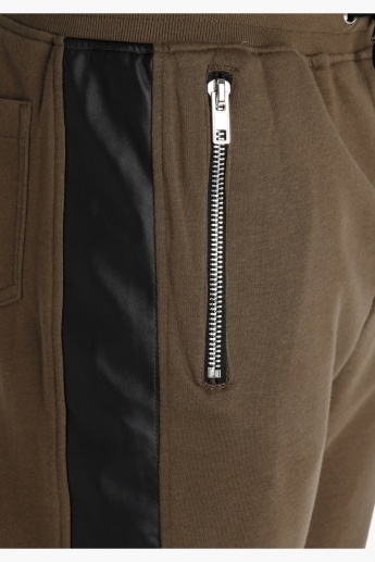 Full Length Jog Pants with Zip Detail