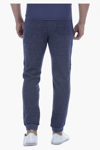 Slim Fit Textured Jog Pants