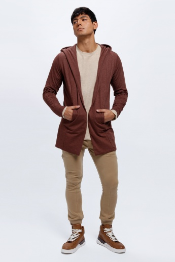 Long Sleeves Jacket with Hood