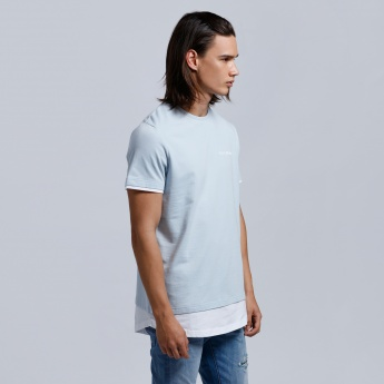 Eco Friendly Short Sleeves T-Shirt with Crew Neck