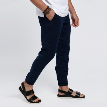 Full Length Pants with Pockets on the Front