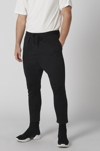 Pocket Detail Trousers with Drawstring