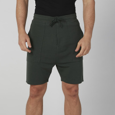 Sustainability Slim Fit Plain Shorts with Pocket Detail