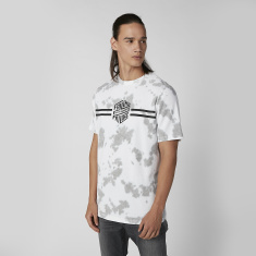 Sustainability Slim Fit Printed T-shirt with Round Neck and Short Sleeves