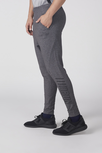 Printed Track Pants with Pocket Detail