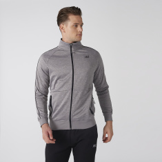 Raglan Sleeves Jacket with Zip Closure and Pocket Detail