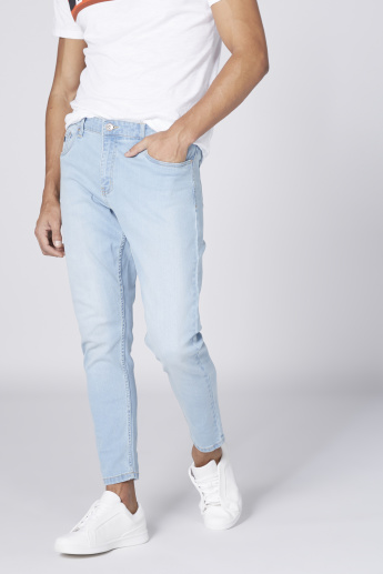 Mid Rise Carrot Perfect Length  Jeans