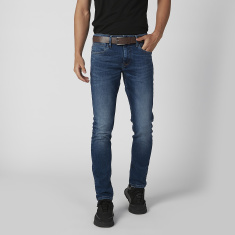 Sustainability Slim Fit Plain Jeans with Pocket Detail