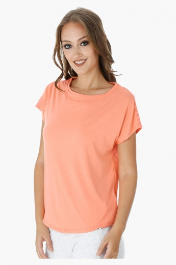 Kappa T-Shirt with Round Neck and Short Sleeves