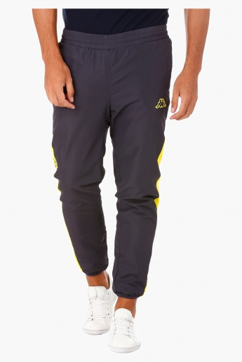 Kappa Regular-fit Trousers with Side Cut and Sew