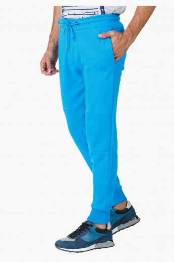 Kappa Jog Pants with Side Zipper in Regular Fit