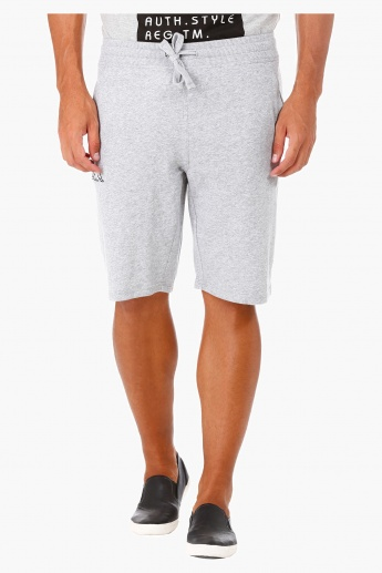 Kappa Cotton Shorts with Drawcords in Regular Fit