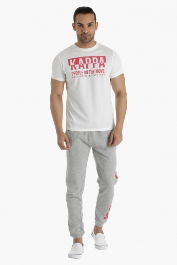 Kappa Printed T-Shirt Regular Fit