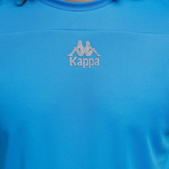 Kappa Crew Neck T-Shirt with Short Sleeves