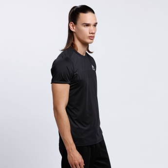 Kappa Printed Short Sleeves T-Shirt with Crew Neck