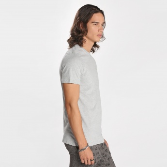 Kappa Round Neck T-Shirt with Short Sleeves