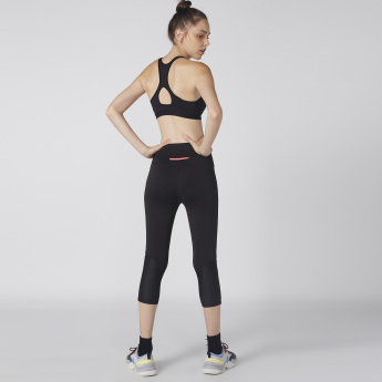 Kappa 3/4 Leggings with Elasticised Waistband