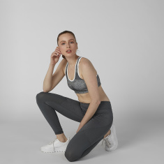Kappa Plain Leggings with Elasticised Waistband