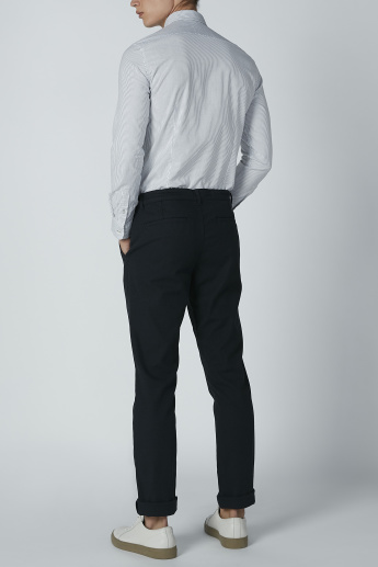 Bossini Full Length Trousers with Pocket Detail and Drawstring